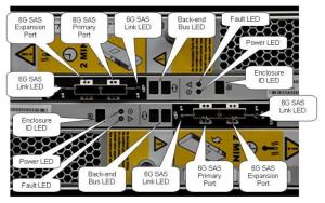 15-drive DAE - closeup